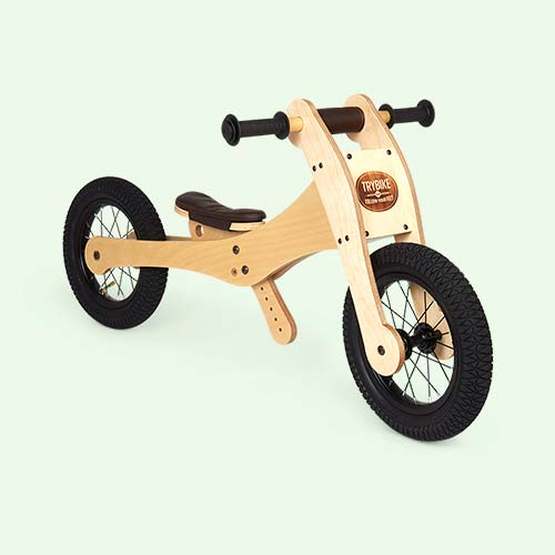TRYBIKE Wooden 4-in-1 Bike