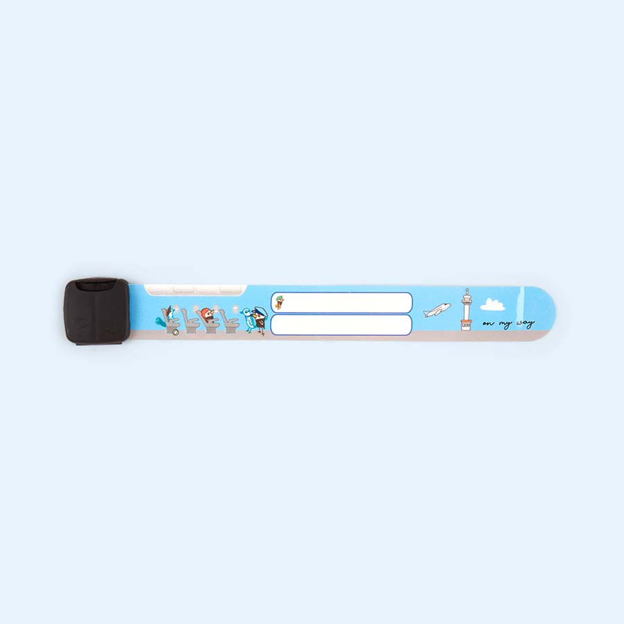 Travel Band Simply For Flying ID Band