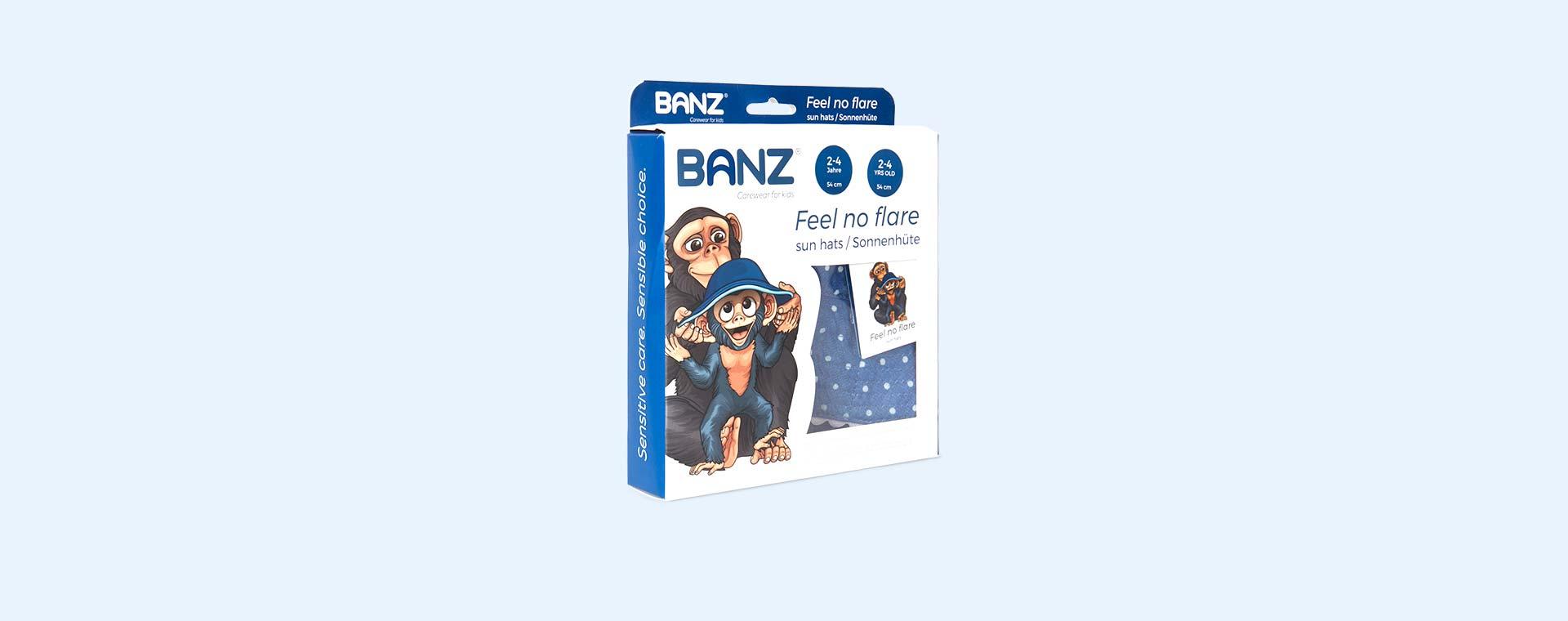 Chambray Dot Banz Bubzee Sun Hat