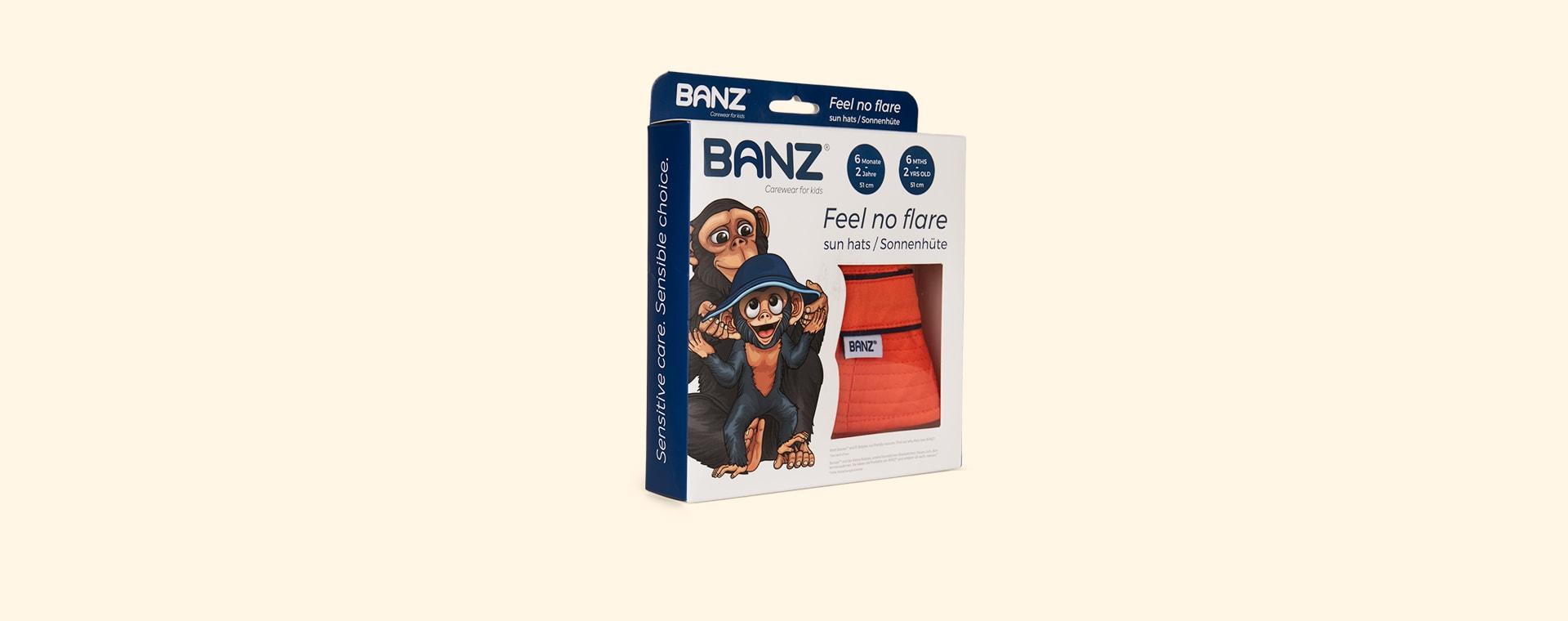 Orange Banz Bubzee Sun Hat