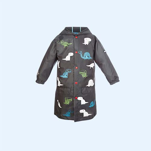 Dinosaur SquidKids Long Rain Jacket