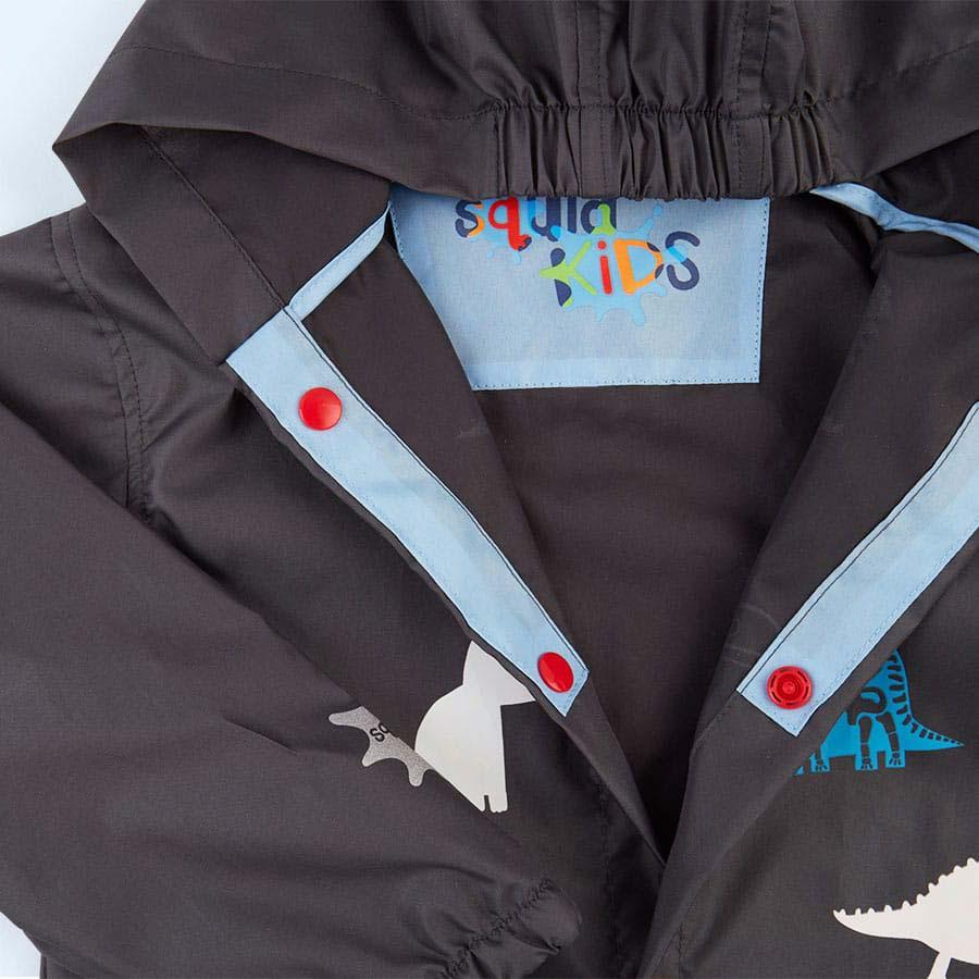 Dinosaur SquidKids Long Rain Jacket
