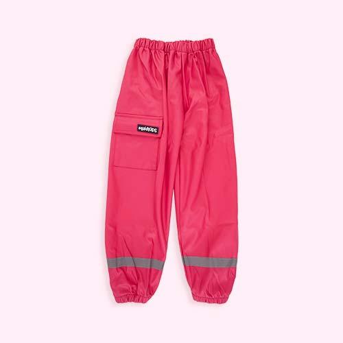 Pink SquidKids Waterproof Trouser