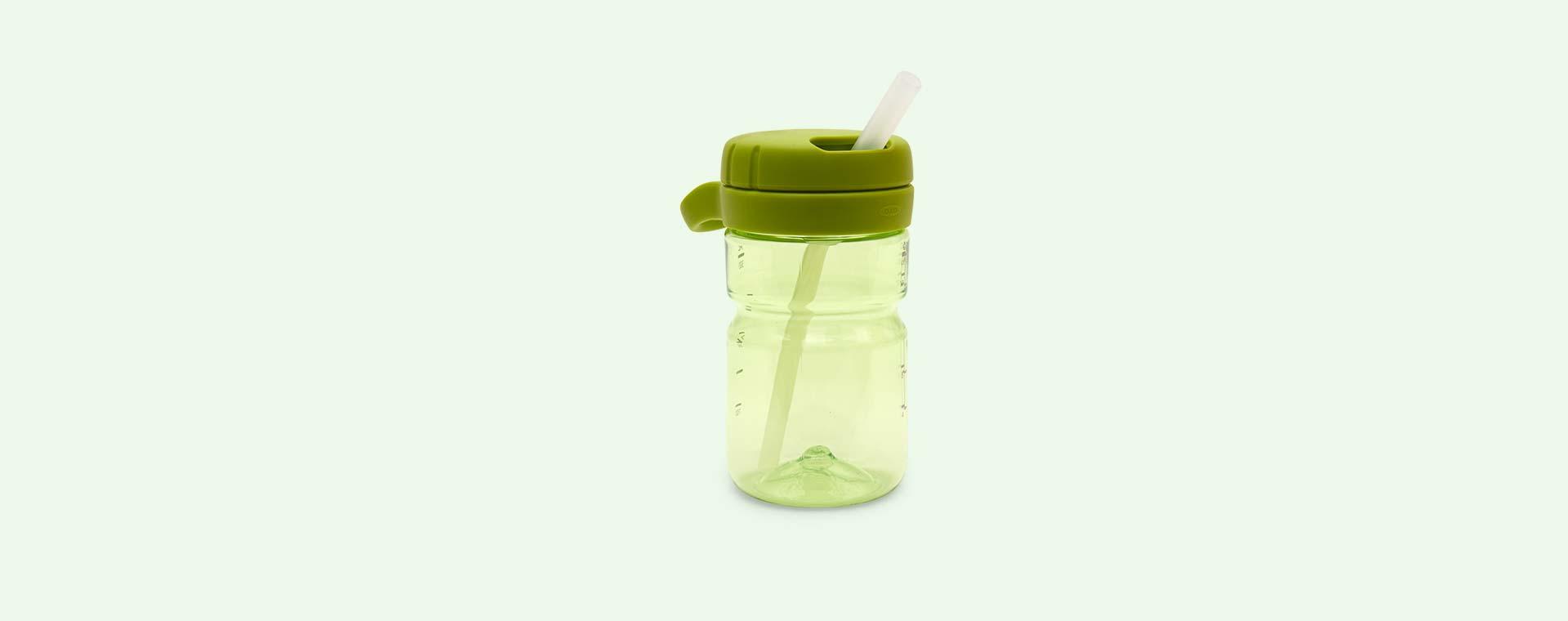 Green Oxo Tot Twist Top Water Bottle