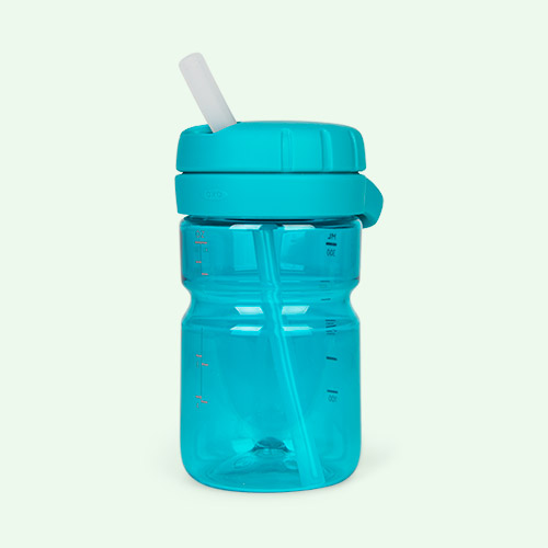Teal Oxo Tot Twist Top Water Bottle
