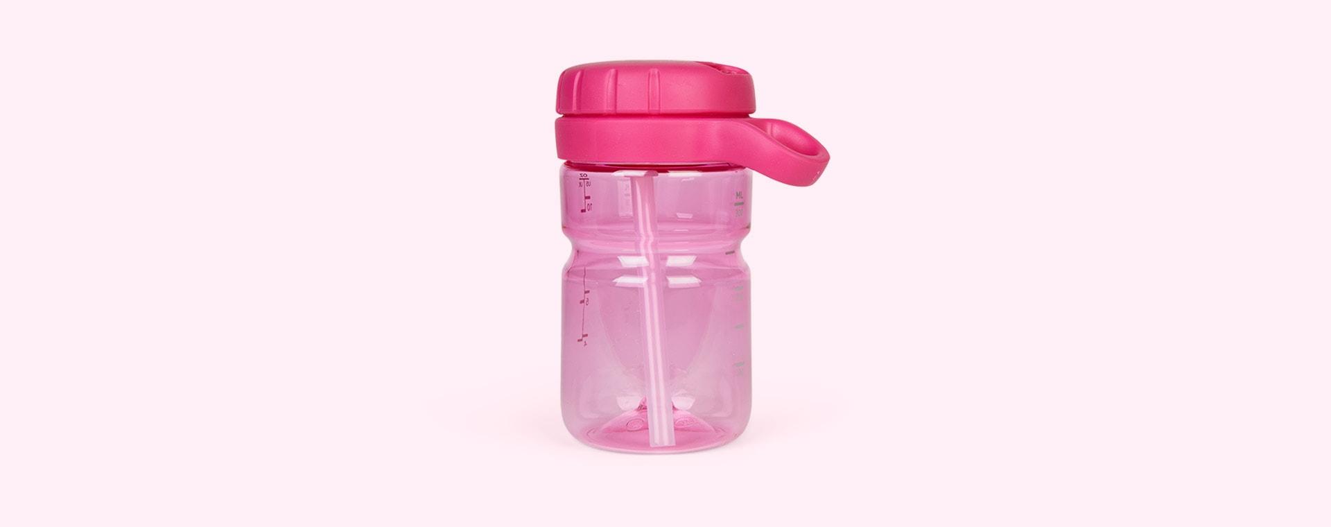 Raspberry Oxo Tot Twist Top Water Bottle