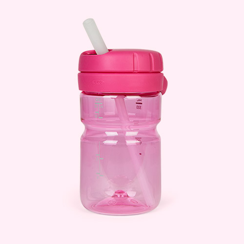 Raspberry Oxo Tot Twist Top Water Bottle