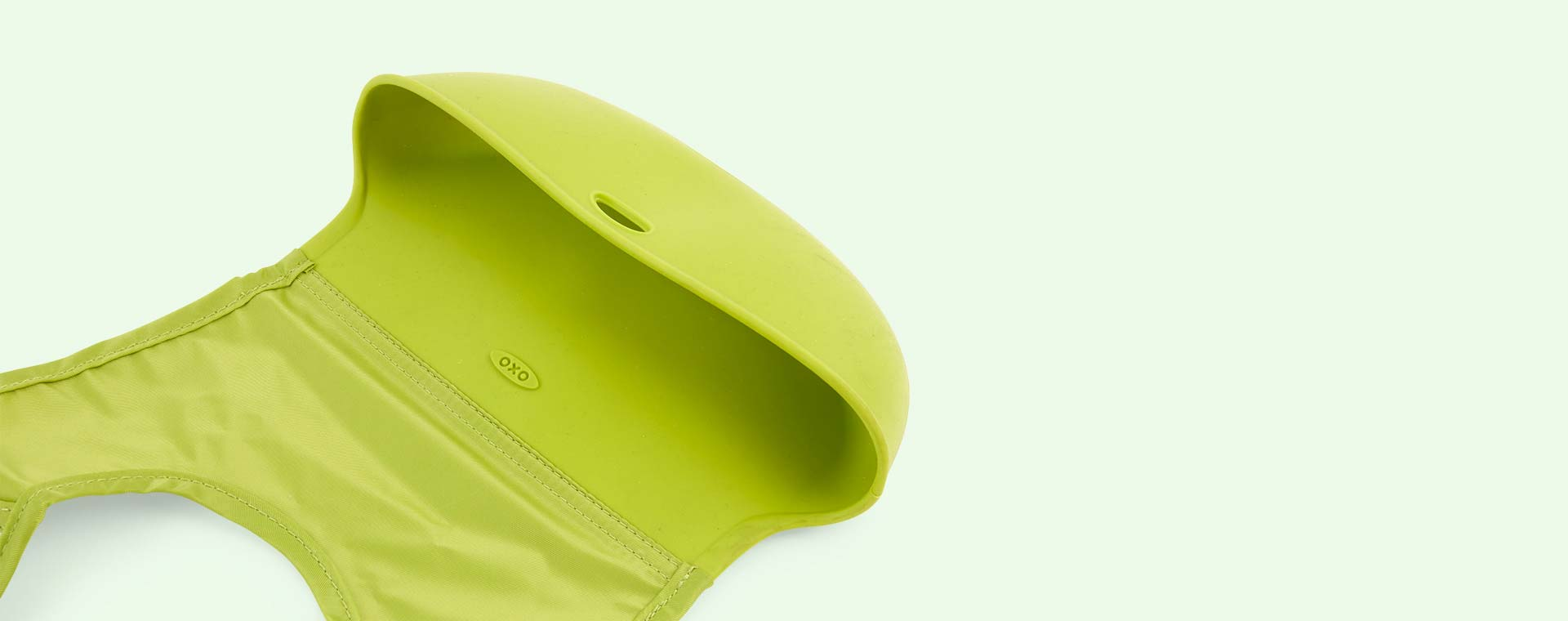 Green Oxo Tot Roll Up Bib
