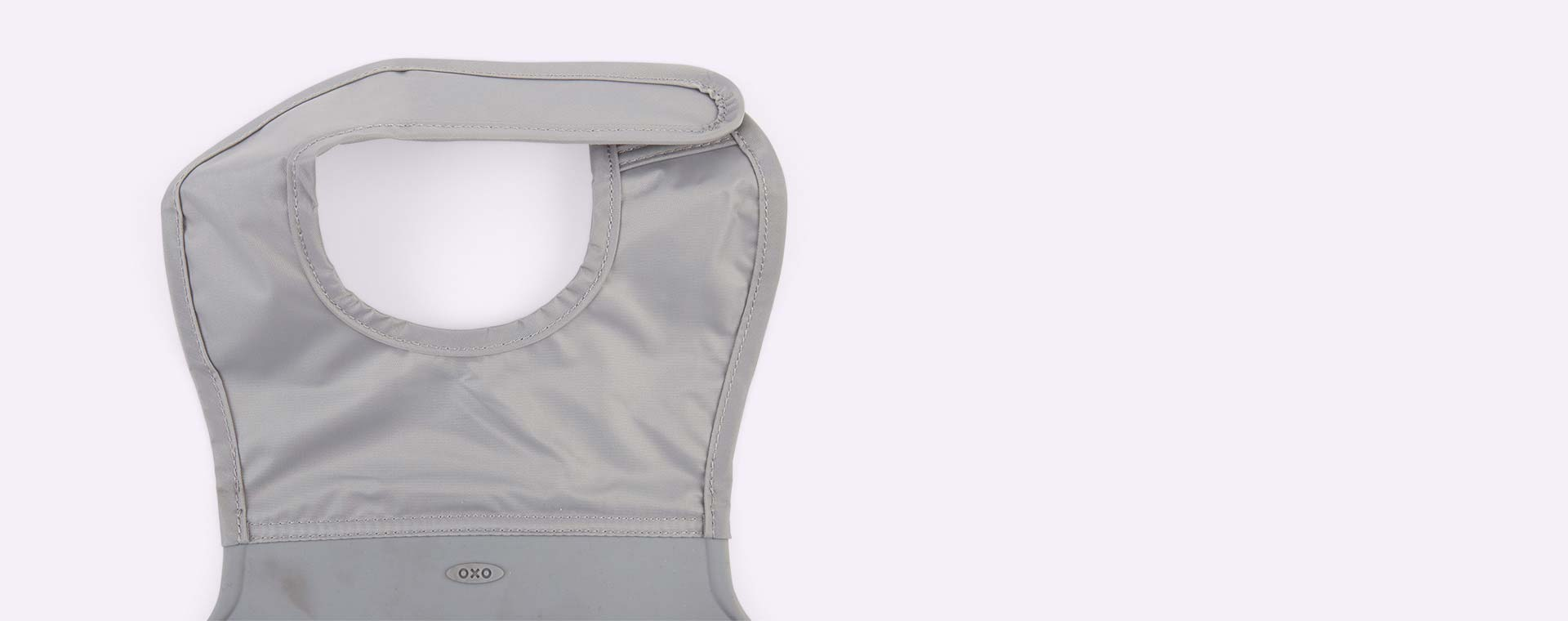 Grey Oxo Tot Roll Up Bib