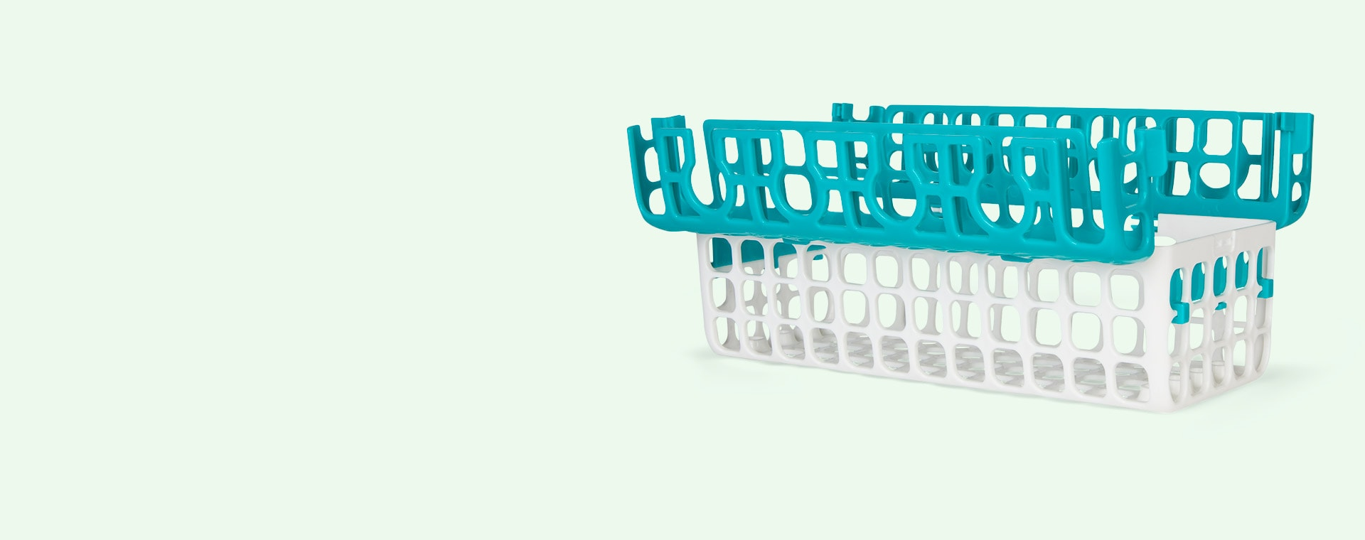 Teal Oxo Tot Dishwasher Basket