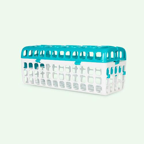 Teal Oxo Tot Dishwasher Basket