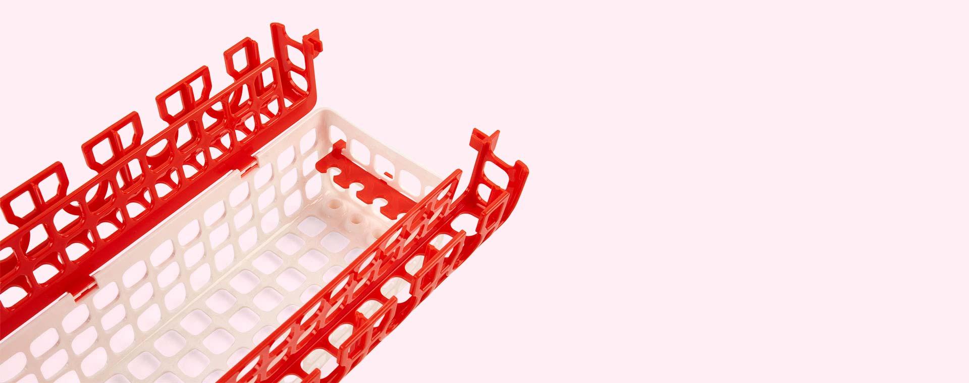White Oxo Tot Dishwasher Basket