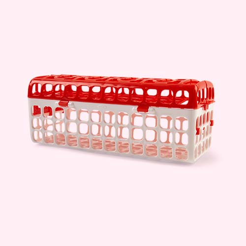 White Oxo Tot Dishwasher Basket