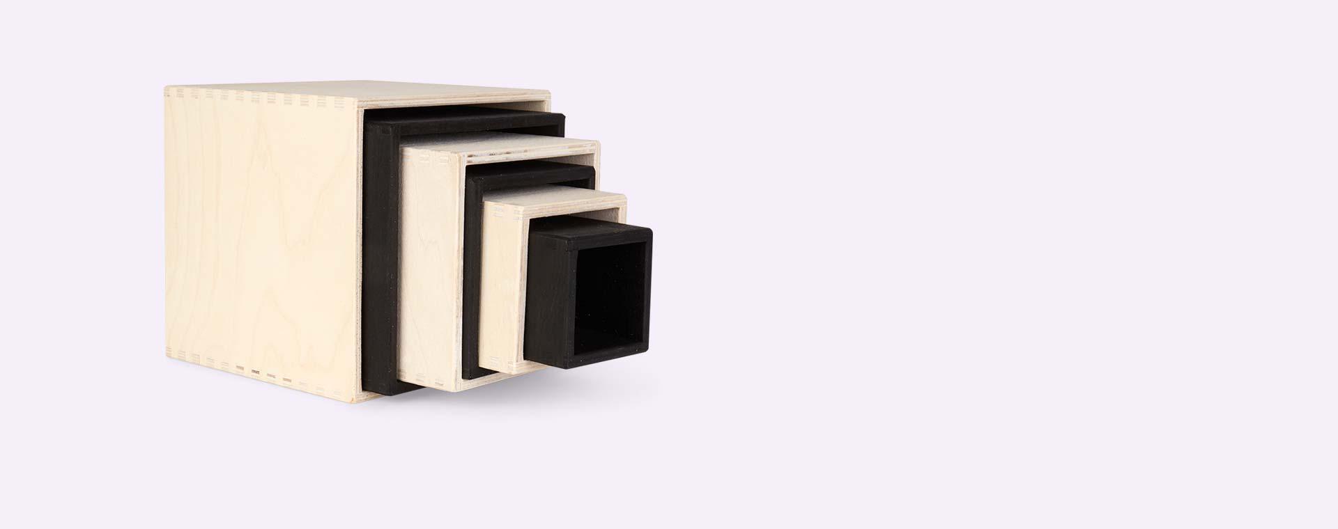Monochrome Grimm's Large Set Of Boxes