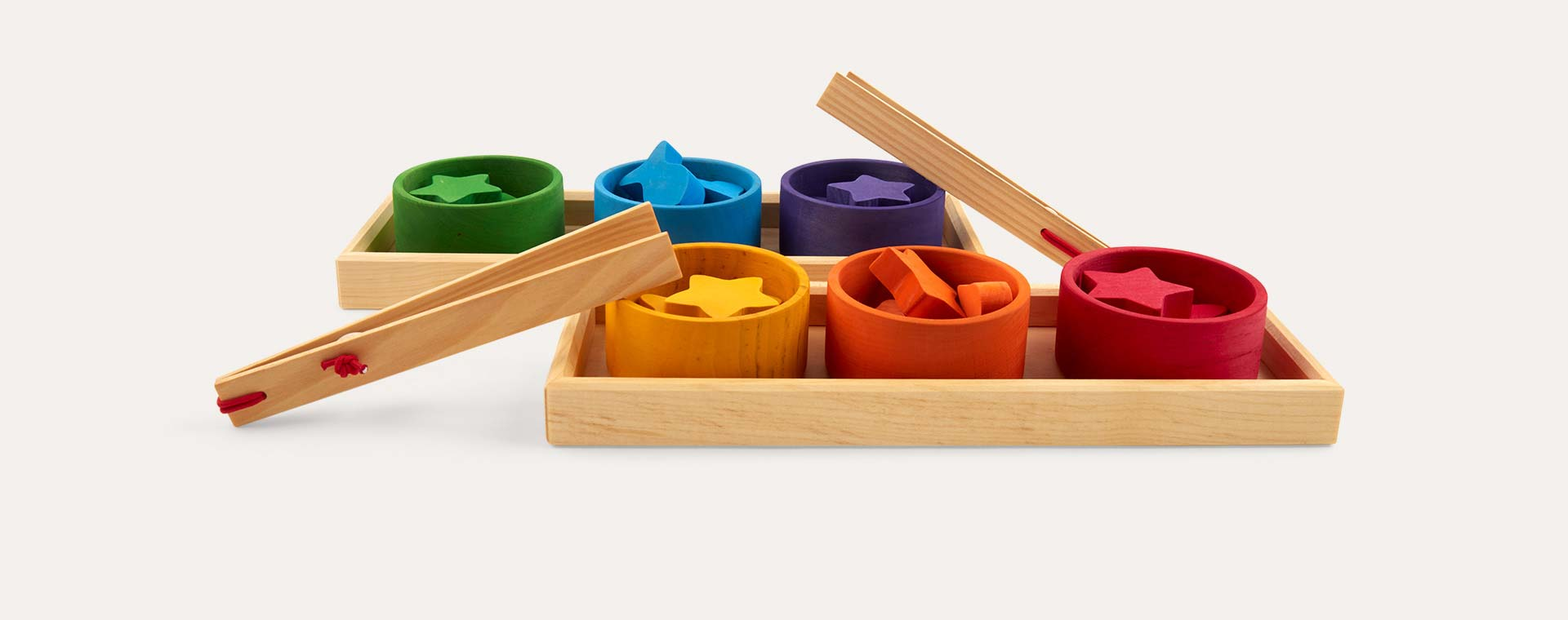 Multi Grimm's Sorting Rainbow Bowls
