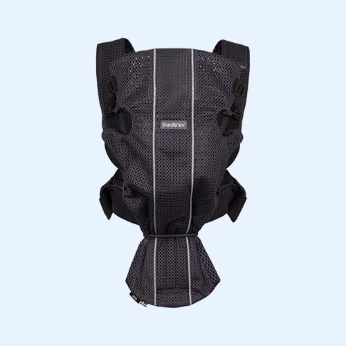 1377c3833f6 Anthracite BabyBjorn Mini 3D Mesh Carrier