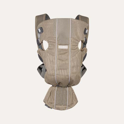 Greige BabyBjorn Mini 3D Mesh Carrier