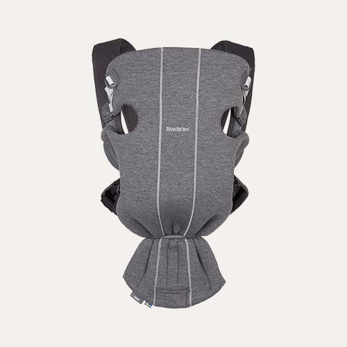 Dark Grey BabyBjorn Mini 3D Jersey Carrier