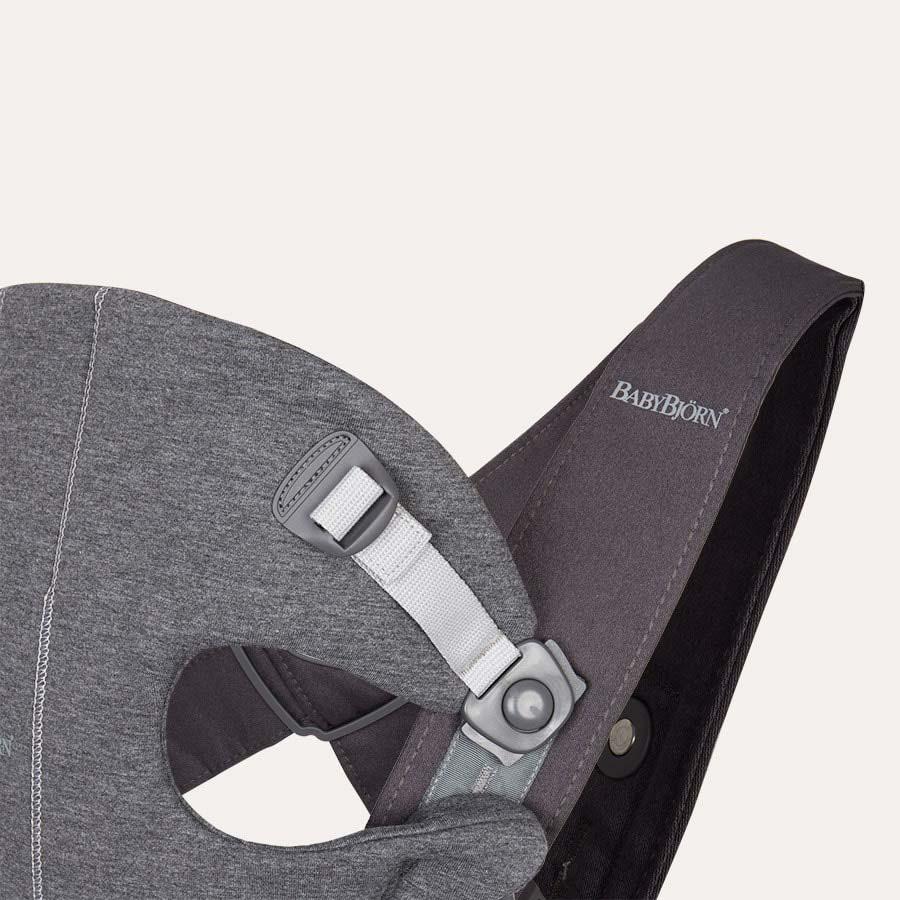 Dark Grey BabyBjorn Mini 3D Jersey Carrier