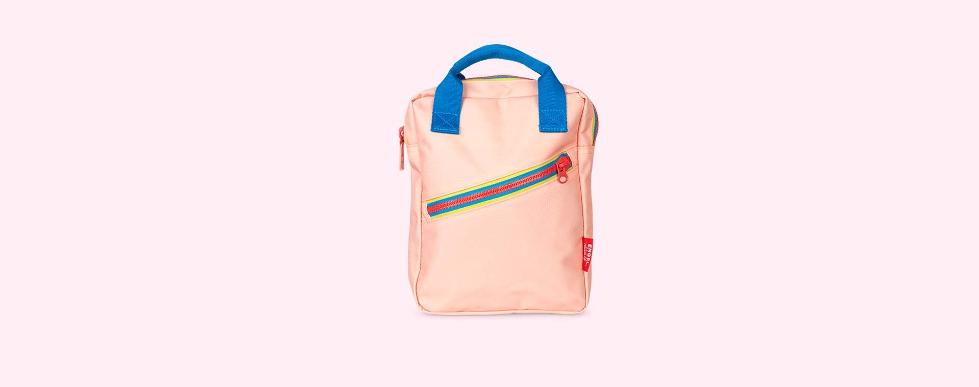 Pink Engel Zipper Backpack