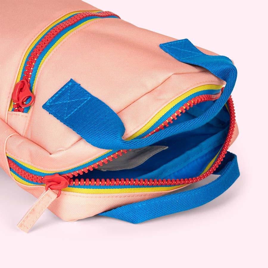 Pink Engel Zipper Backpack