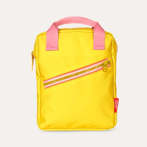 Yellow Engel Zipper Backpack