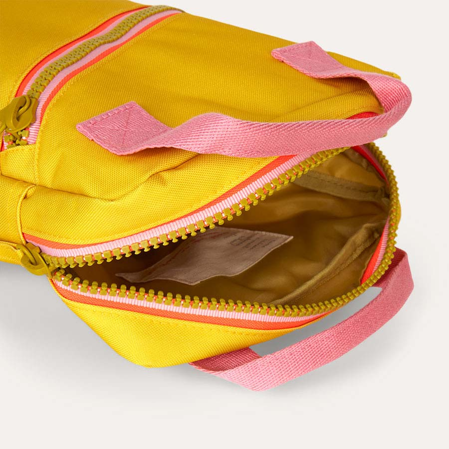 Yellow Engel Zipper Backpack