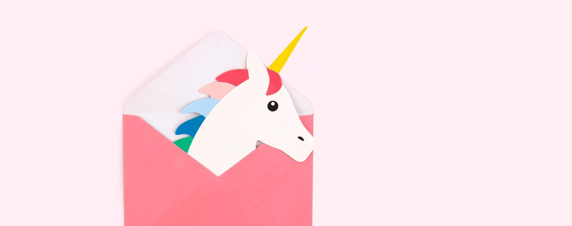 Multi My Little Day Unicorn Invitations
