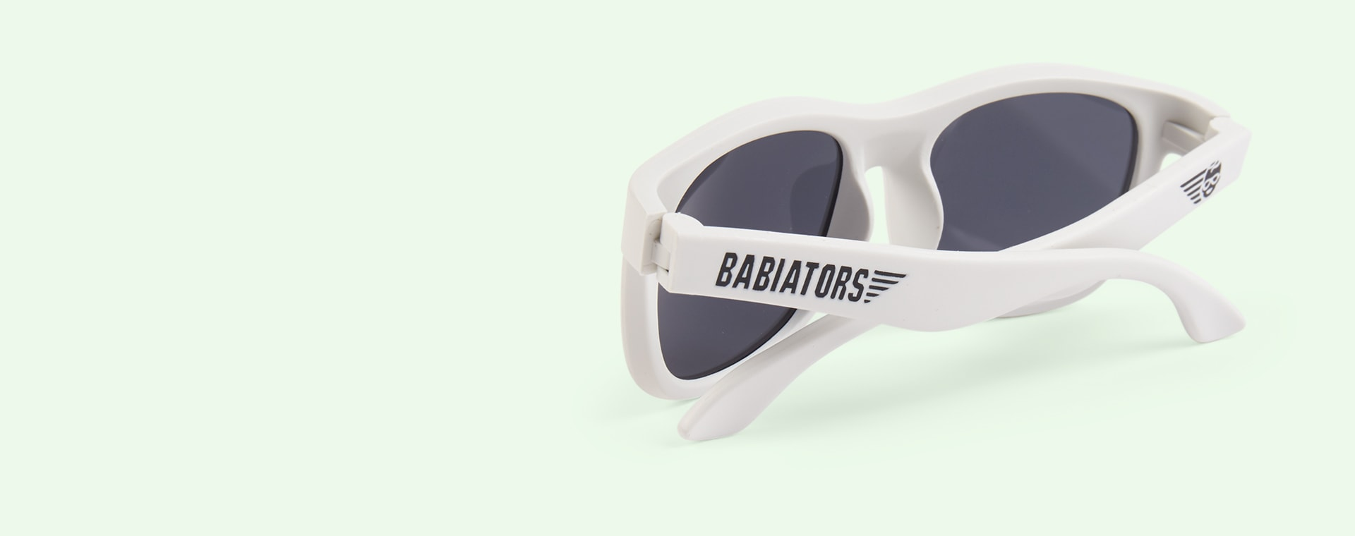 Limited Edition Wicked White Babiators Original Navigator
