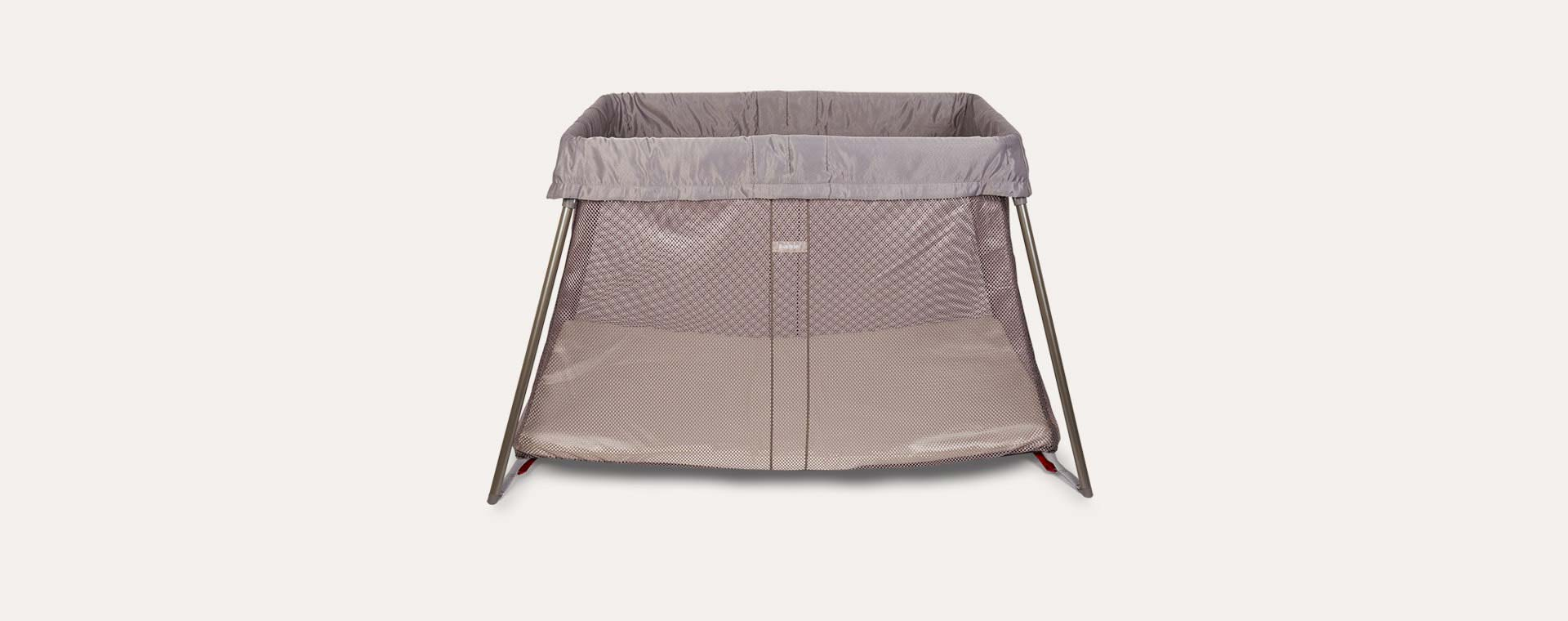 Greige BabyBjorn Travel Cot Easy Go