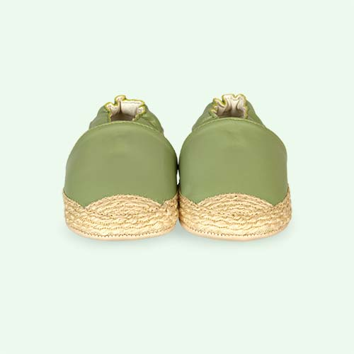 Light Green Koh Espadrille Soft Sole