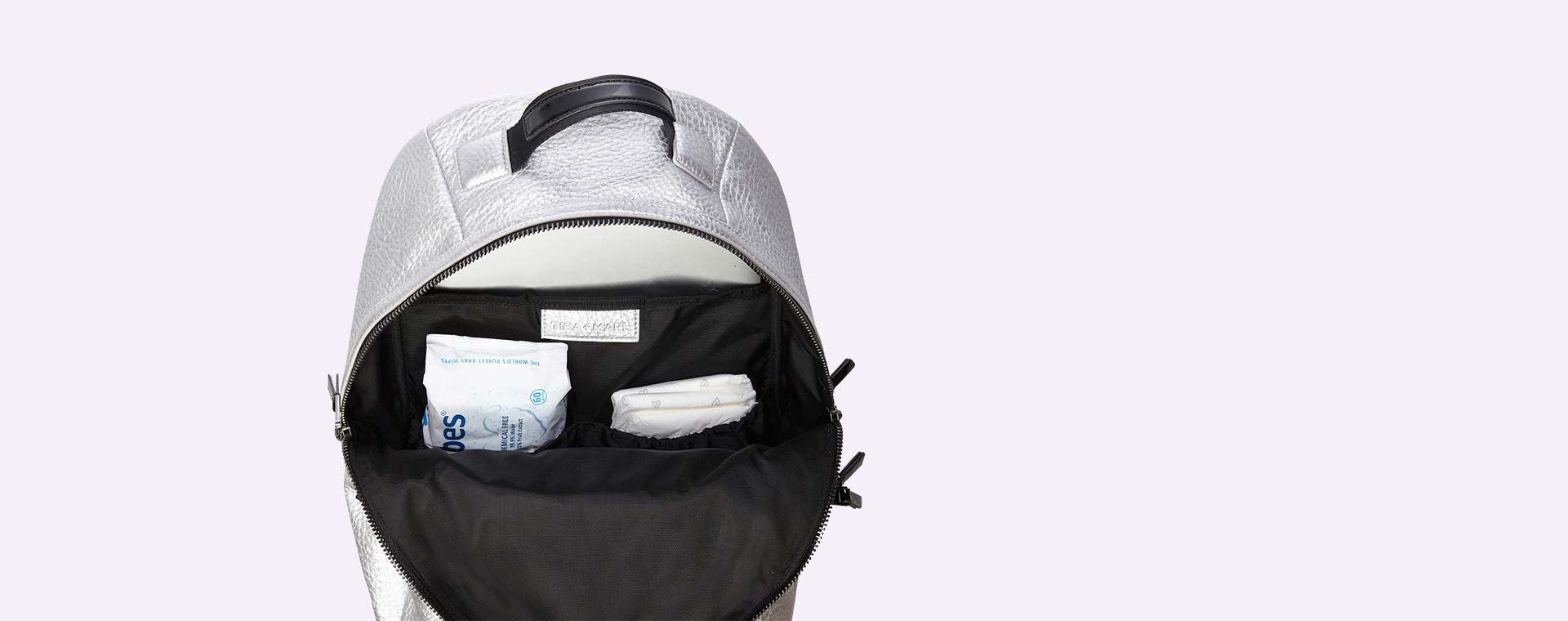 Silver Tiba + Marl Elwood Backpack