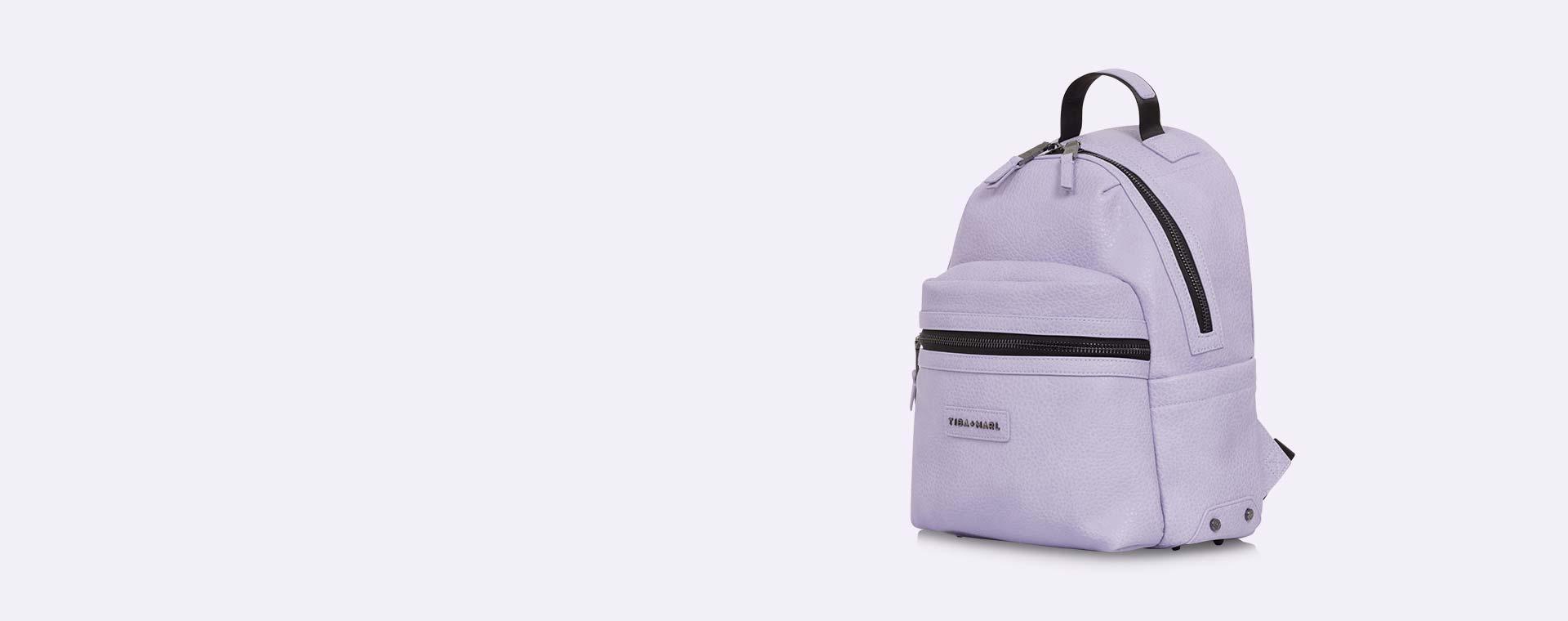 Lilac Snake Tiba + Marl Miller Backpack