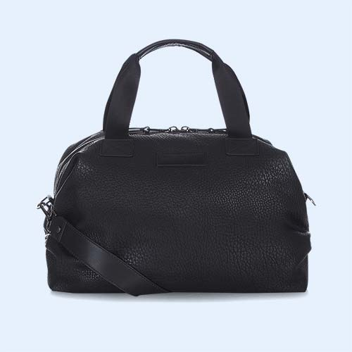 Faux Leather Black Tiba + Marl RAF Holdall
