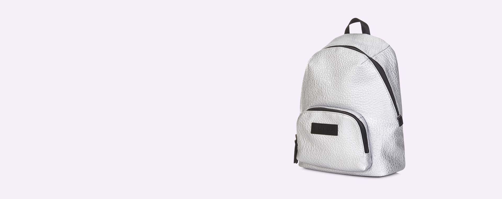 Silver Tiba + Marl Mini Elwood Kids Backpack