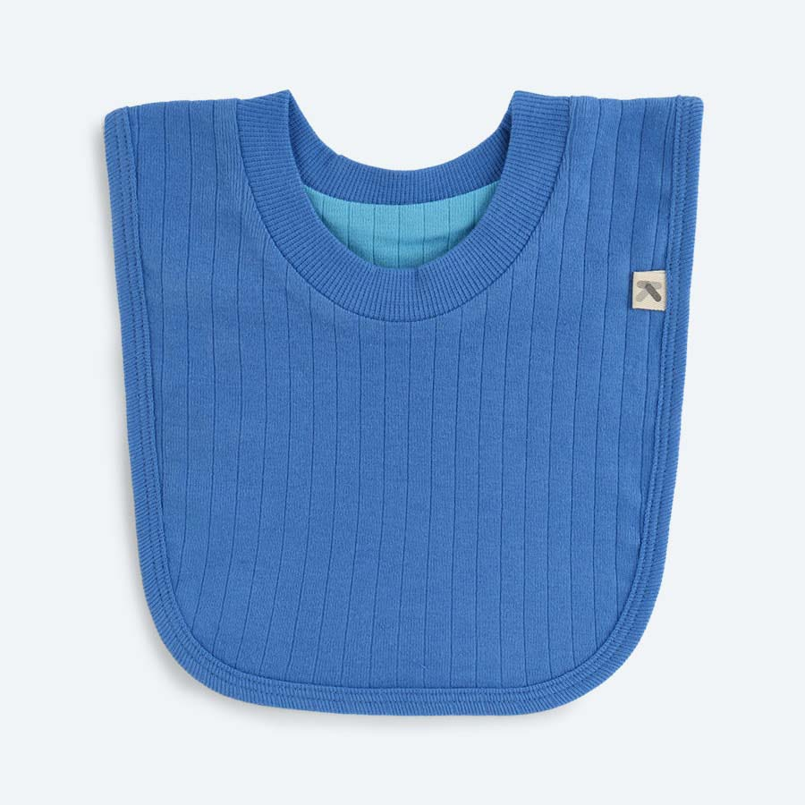 Palace Blue KIDLY Home Reversible Bib