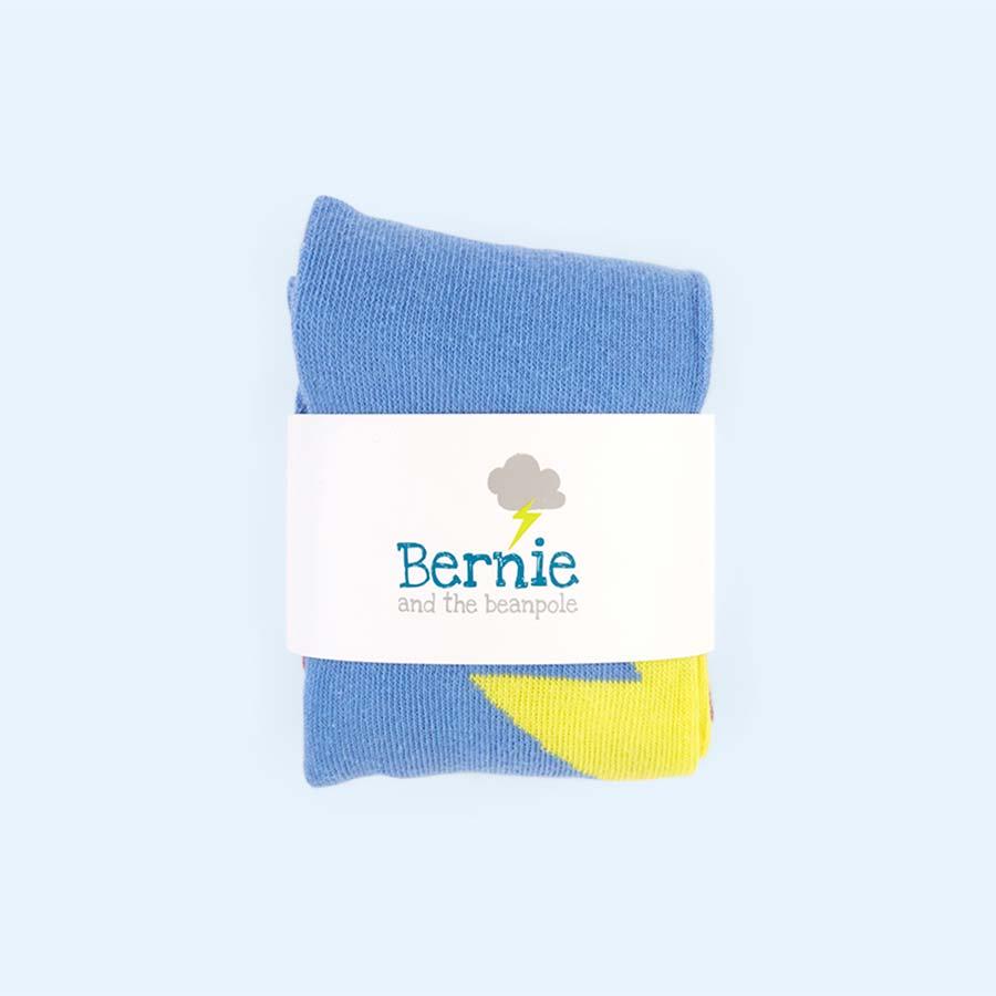 Multi Bernie and The Beanpole Denim Strike Leggings