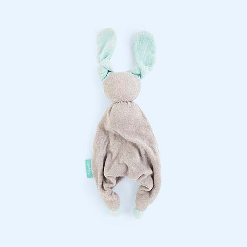 Grey/Mint Hoppa Floppy Organic Soother