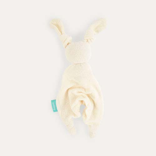 White/White Hoppa Floppy Organic Soother