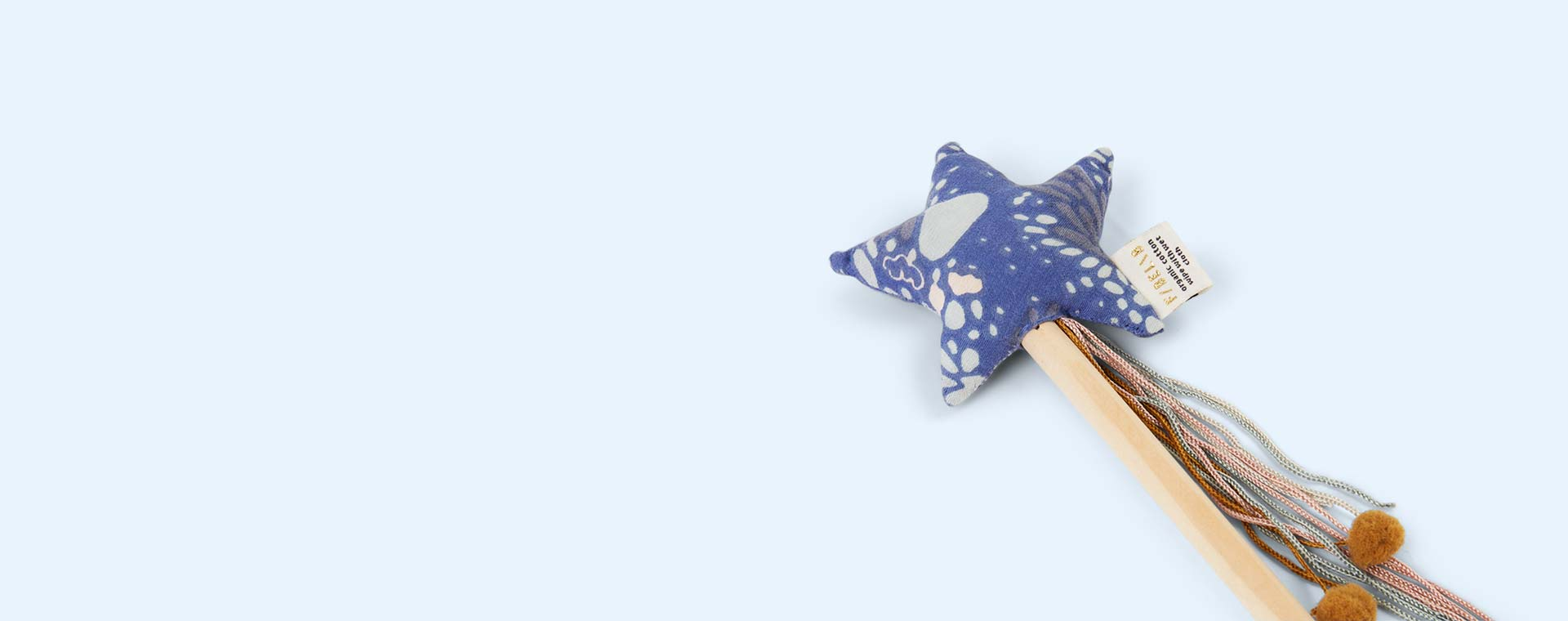 Blue Fabelab Sea Star Wand
