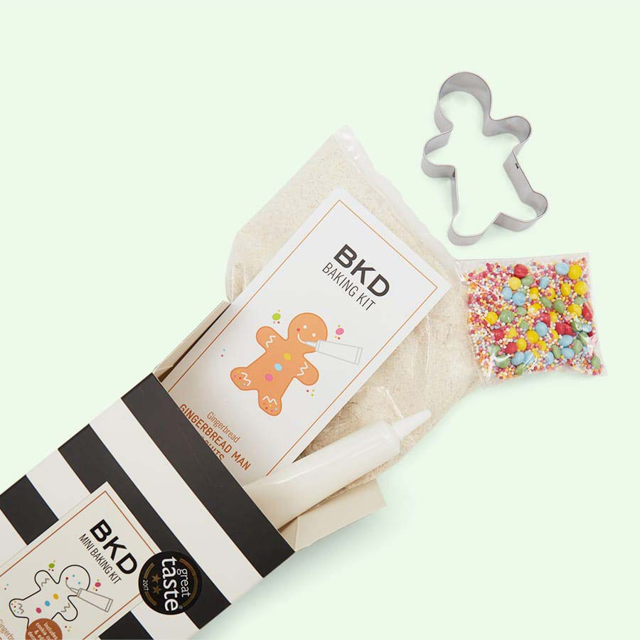 Gingerbread Man BKD Biscuit Baking Kit