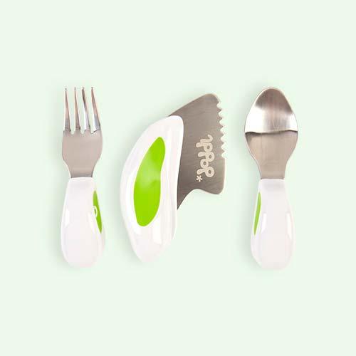 Green doddl 3-Piece Cutlery Set