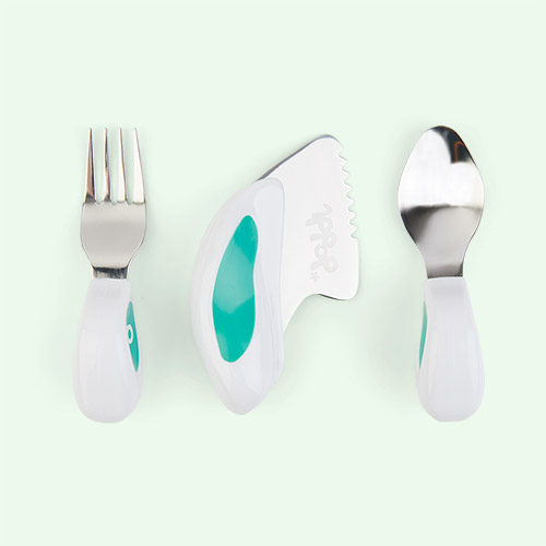 Aqua Green doddl 3-Piece Cutlery Set