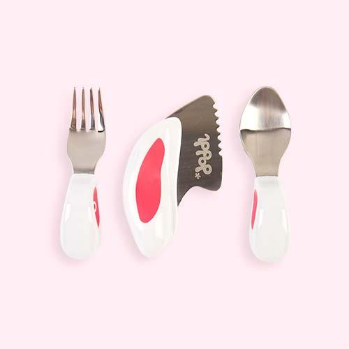Pink doddl 3-Piece Cutlery Set