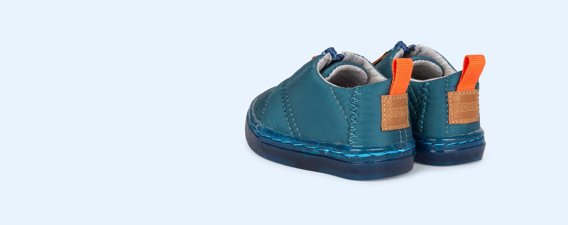 Teal TOMS Lenny Zip Up Trainer