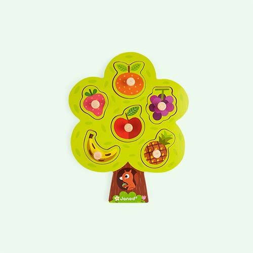 Multi Janod Fruit Tree Puzzle