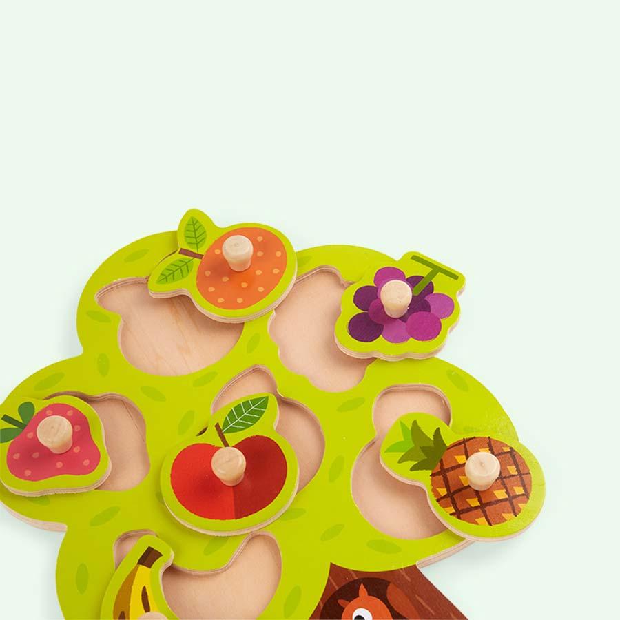 Multi Janod Fruit Tree Puzzle