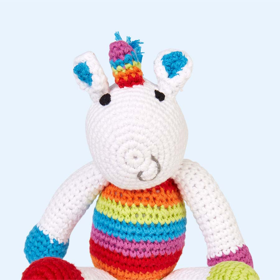 Unicorn Pebble Unicorn Rattle