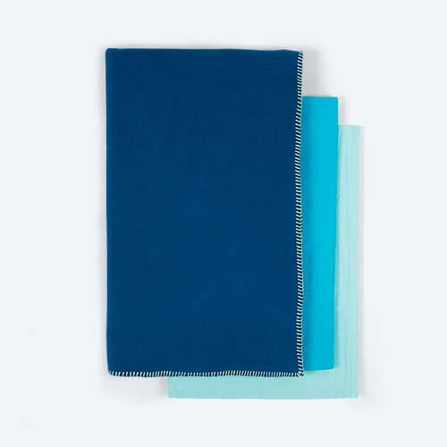 Blue KIDLY Cot Bedding Bundle