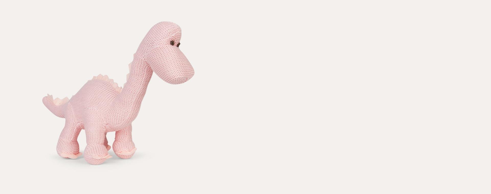Pink Best Years Organic Cotton Diplodocus